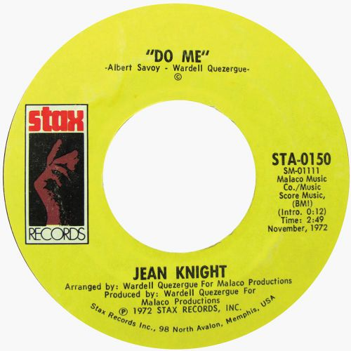 Do Me by Jean Knight single label