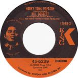 Honkey Tonk Popcorn by Bill Doggett single label