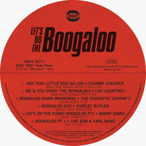Let's Do The Boogaloo LP Side C