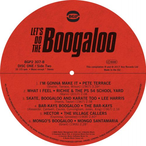 Let's Do The Boogaloo LP Side B