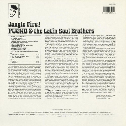 Jungle Fire sleeve back