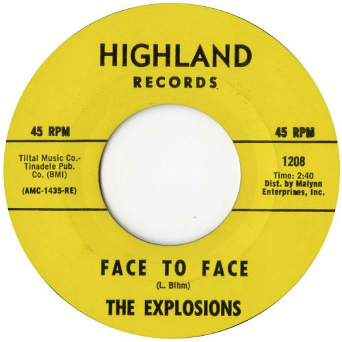 The Explosions 'Face To Face'