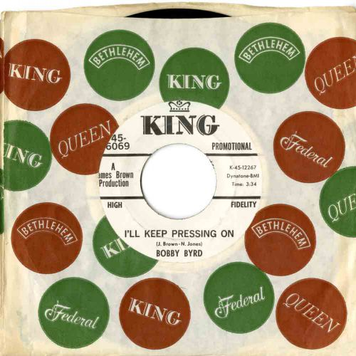 Bobby Byrd 'I'll Keep Pressing On' courtesy of Ady Croasdell