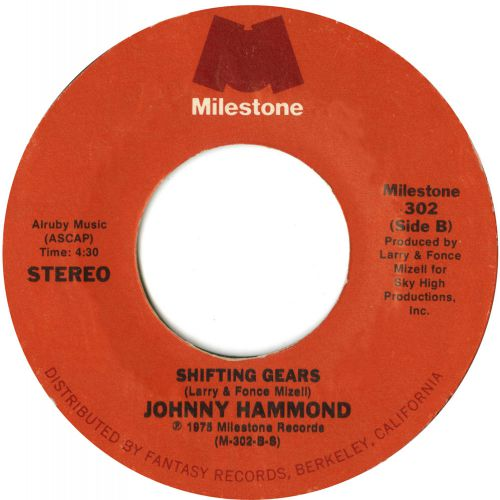 Johnny Hammond 'Shifting Gears' courtesy of Dean Rudland