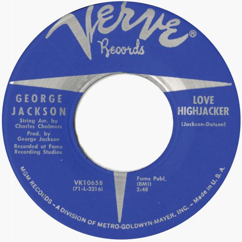 George Jackson 'Love Highjacker'