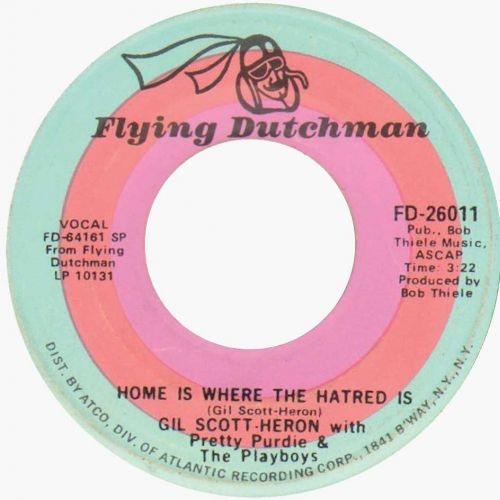 'Home is Where the Hatred Is' 45
