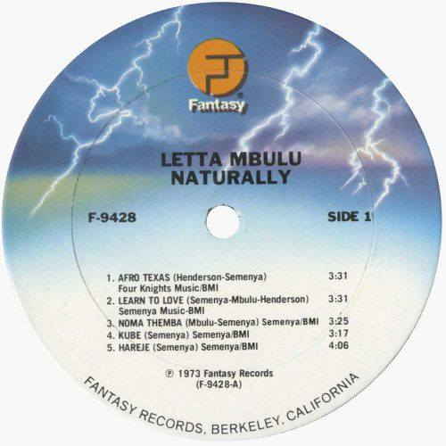 Letta Mbulu 'Naturally'