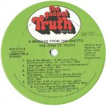 The Sons Of Truth 'A Message From The Ghetto'courtesy of Ace Records Ltd