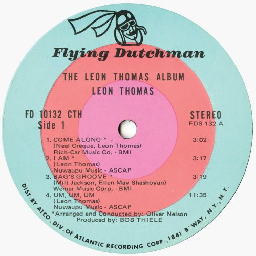 The Leon Thomas Album