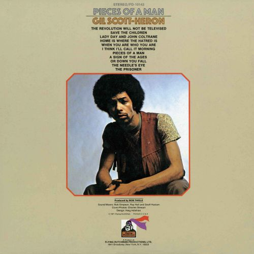 Gil Scott-Heron 'Pieces Of A Man' LP back cover