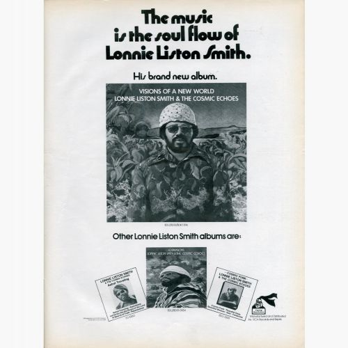 Lonnie Liston Smith & The Cosmic Echoes advert