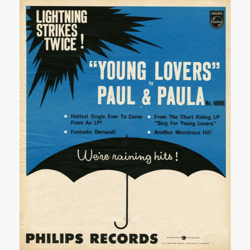 Paul & Paula 'Young Lovers' advert