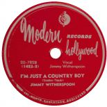 Jimmy Witherspoon 'I'm Just A Country Boy' courtesy of Victor Pearlin