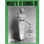 Dusty Springfield 'What's It Gonna Be' songsheet courtesy of Mick Patrick