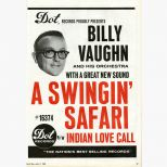 Billy Vaughn & His Orchestra 'A Swingin' Safari' advert