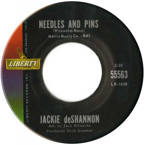 Jackie DeShannon 'Needles And Pins' courtesy of Roger Armstrong