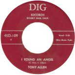 Tony Allen 'I Found An Angel' courtesy of Peter Vacher