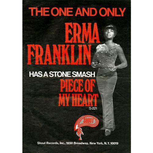 Erma Franklin advert