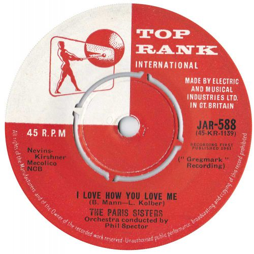 The Paris Sisters 'I Love How You Love Me' courtesy of Rob Finnis
