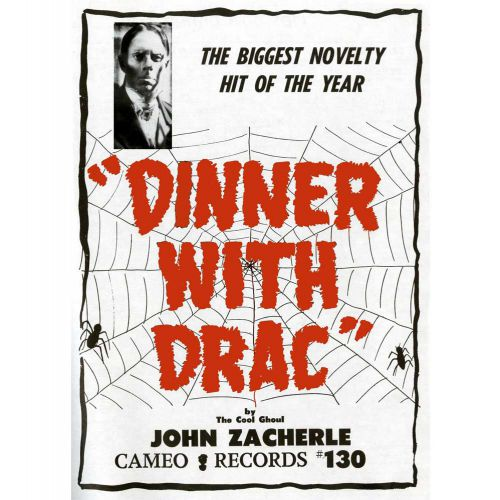 Dinner With Drac advert courtesy of Rob Finnis