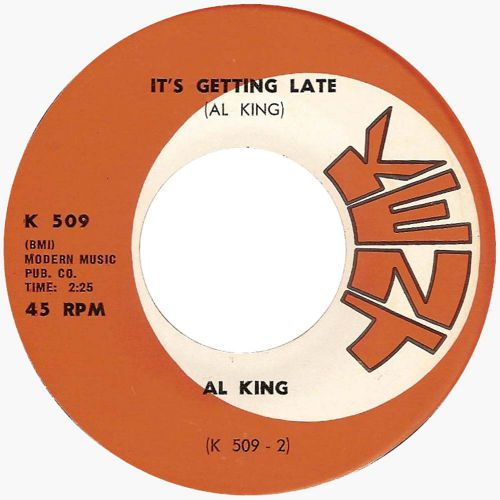 Al King 'It's Getting Late' courtesy of Victor Pearlin