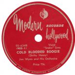 Jim Wynn and his Orchestra 'Cold Blooded Boogie'