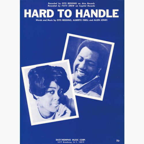 'Hard To Handle' song sheet courtesy Colm O'Brien
