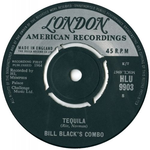 Bill Black's Combo - Tequila