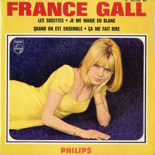 France Gall 'Les Sucettes'