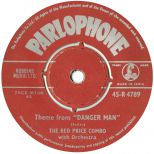 Red Price & His Combo 'Theme From Danger Man'