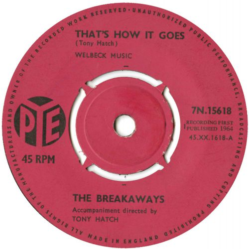 The Breakaways 'That's How It Goes'