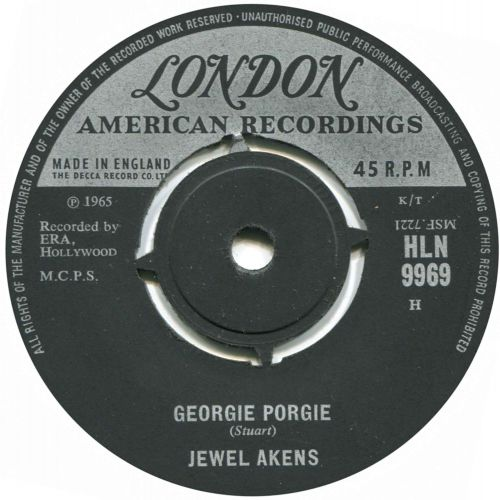 Jewel Akens 'Georgie Porgie'