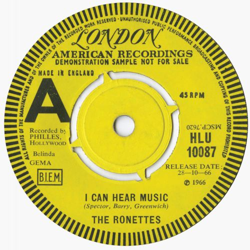 The American Poets 'I Can Hear Music'