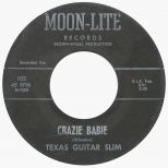 Texas Guitar Slim 'Crazie Babie' 45