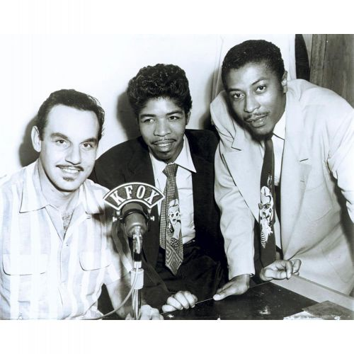 Marvin & Johnny with Johnny Otis