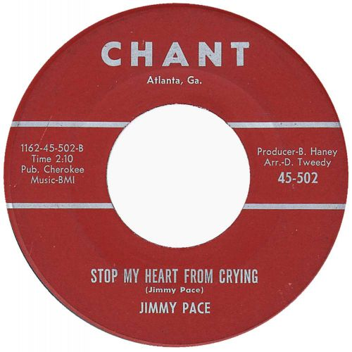 Jimmy Pace 'Stop My Heart From Crying'
