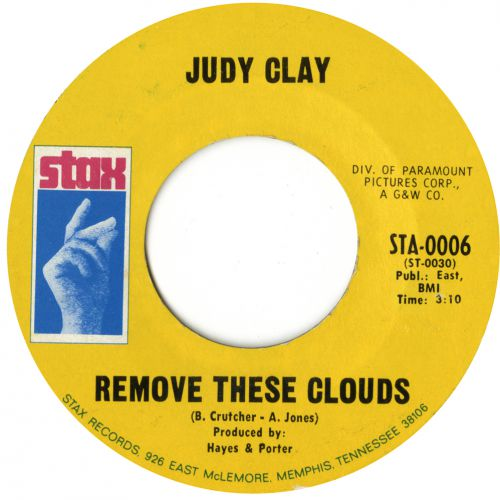 Judy Clay 'Remove These Clouds' courtesy of Tony Rounce