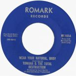 Towana & The Natural Destruction 'Wear Your Natural, Baby' courtesy of Ady Croasdell