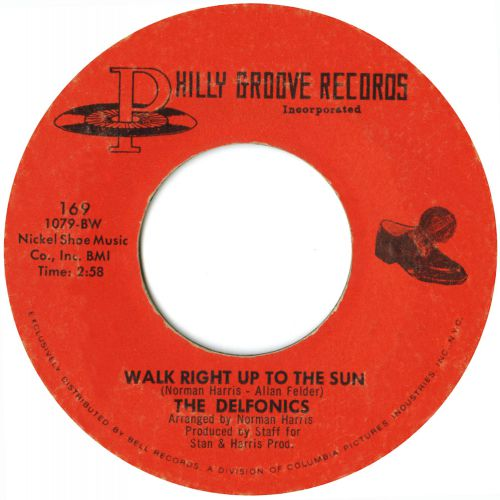 The Delfonics 'Walk Right Up To The Sun' courtesy of Tony Rounce