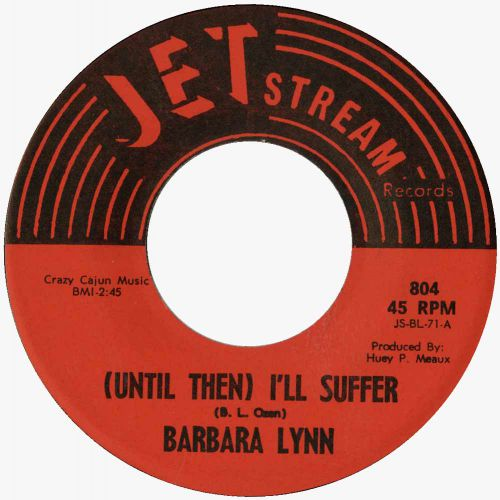 Barbara Lynn '(Until Then) I'll Suffer' courtesy of Peter Gibbon