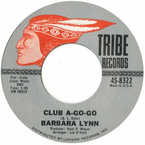 Barbara Lynn 'Club A Go-Go' courtesy of Tony Rounce
