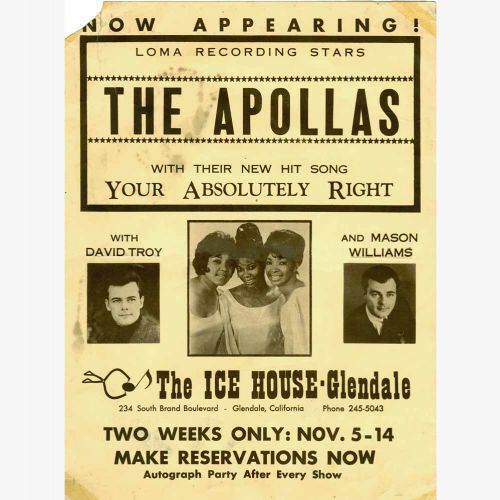 The Apollas advert