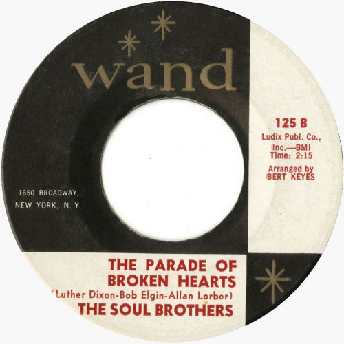 The Soul Brothers 'The Parade Of Broken Heart' courtesy Steve Guarnori
