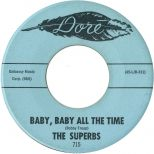 The Superbs 'Baby, Baby All The Time'