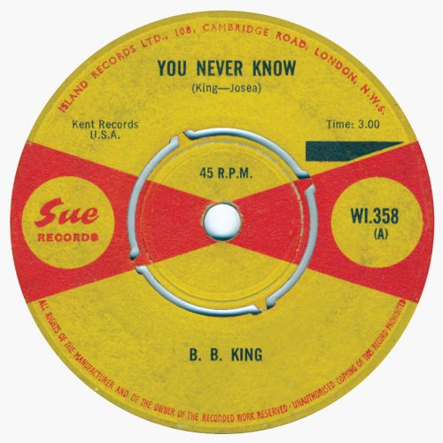 B.B. King 'You Never Know'