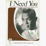 I Need You Songsheet