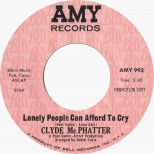 Lonely Clyde McPhatter 'People Can't Afford To Cry'