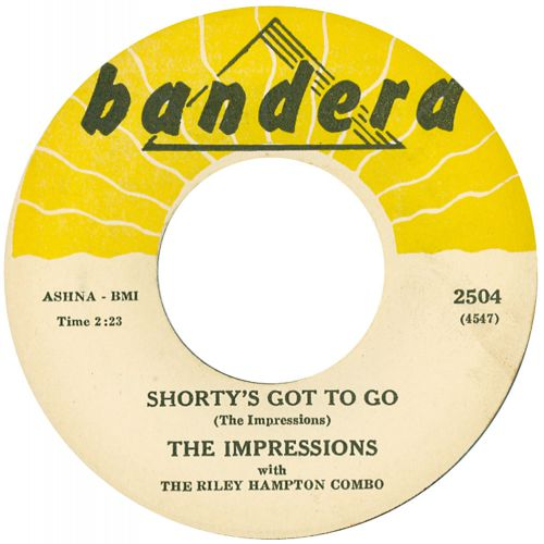 The Impressions 'Shorty's Got To Go' courtesy of Ian Slater