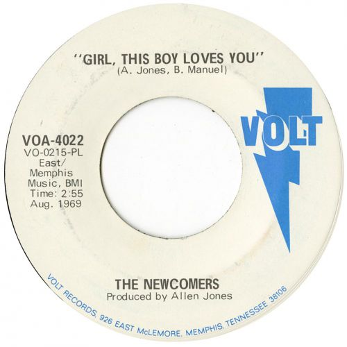 The Newcomers 'Girl, This Boy Loves You'
