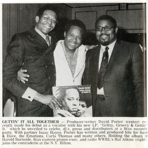 David Porter with Harold Burnside and Hal Atkins